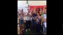 Ora News - Atmosfera pas fitores së PS në KZAZ nr 33