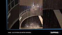 Orages à Paris : Les stations de métro complètement inondées (vidéo)