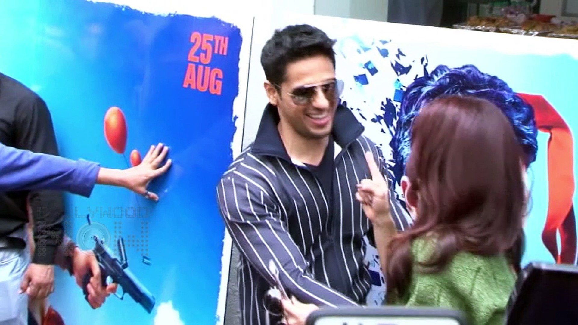 A Gentleman Trailer Launch Event - Sidharth Malhotra, Jacqueline Fernandez