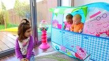 Bébés cri maison maman porc jouer faire semblant Tente Silicone peppa 2