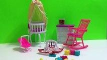 Bébé poupée garderie jouet Ensemble poussette jouet landau pour poupées haute chaise lit poupée meubles