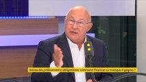 """""""Aucune tricherie"""" dans les prévisions budgétaires, """"je suis blanc comme neige"""", déclare Michel Sapin"""