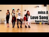"""miss A """"Love Song"""" dance cover [kaotsun+KCDC] MIRRORED"""
