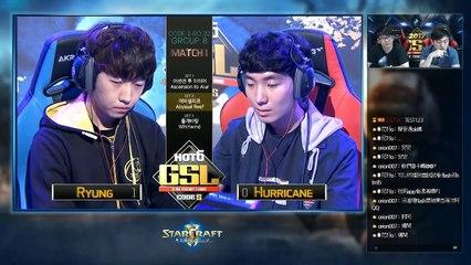 [TW]2017 GSL S3 Code S Ro.32 GroupB Match1:Ryung(T) v.s. Hurricane(P)(Host:Rex & Hui)