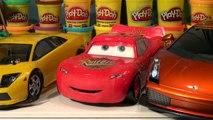 Californie des voitures contrôle vite rapide foudre course course éloigné contre Pixar talkin mcqueen lamborghini murcielago