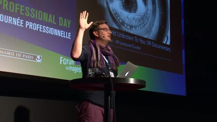 """Creating a VR documentary with impact"" by Dan Tucker"