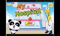 Et bébés enfants docteur pour des jeux hôpital enfants enfants dâge préscolaire les tout-petits Dr panda