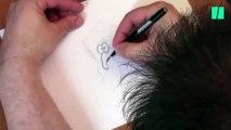 Je vous apprends à caricaturer Emmanuel Macron en quelques coups de crayon