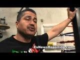 talking to robert garcia cicilio flores Egidijus Kavaliauskas maxim vlasov ron ellis EsNews Boxing