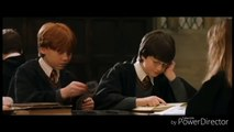 The couple Hermione Granger and Ron Weasley in Harry Potter #3