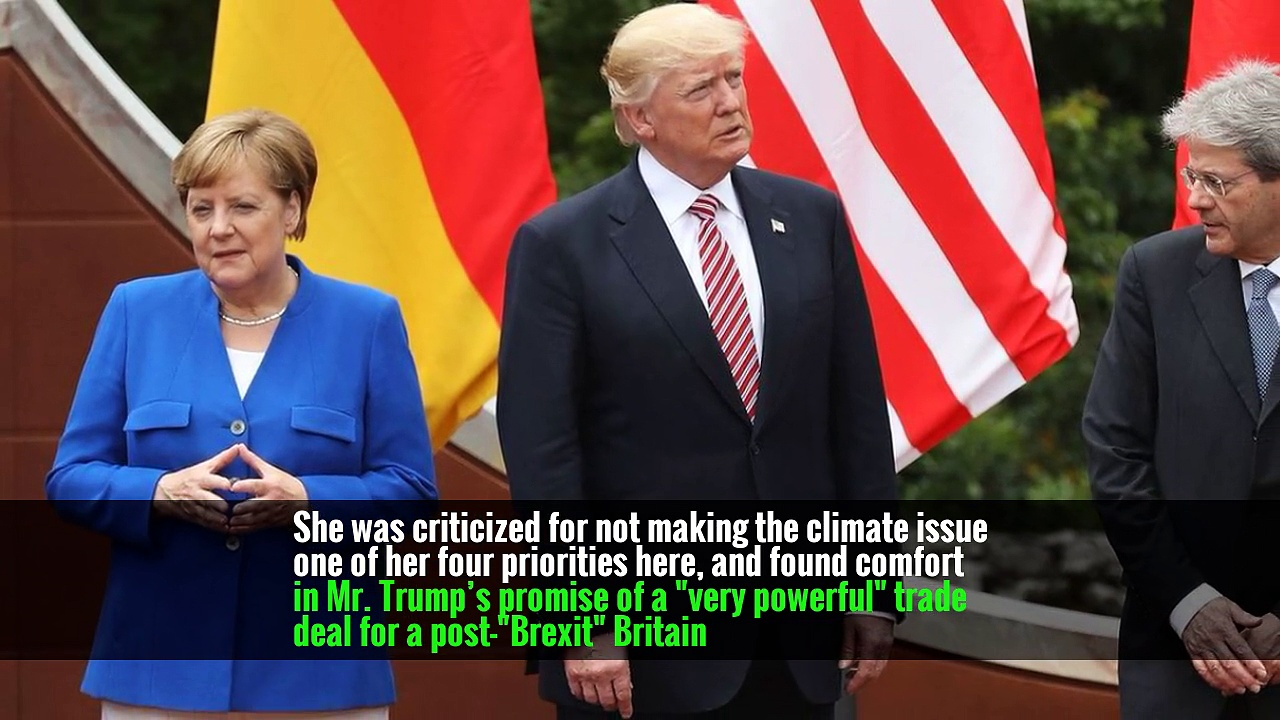 Feeling That Trump Will 'Say Anything,' Europe Is Less Restrained, Too