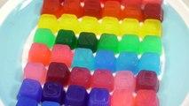 Couleur cuisine faire faire recette à Il Pudding jouets maison de jeux de cuisine! Sikwan alphabet de couleur gelée Faire du pudding! Comment pudding alphabet t