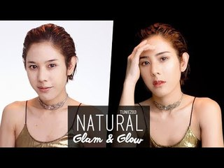Natural Glam& Glow กับ Illuminating Palette by Ver.88