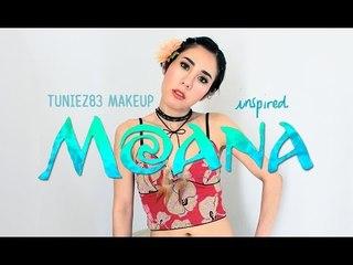 New ! Tutorial Disney Moana Makeup Inspired