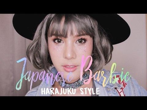 (ENG) Makeup Howto : Japanese Barbie : Harajuku Style
