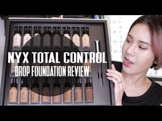 REVIEW : NYX TOTAL Control Drop Foundation (ENG)