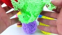 En plastilina sorpresas Princesas disney huevos playfoam juguetes portugues 2017