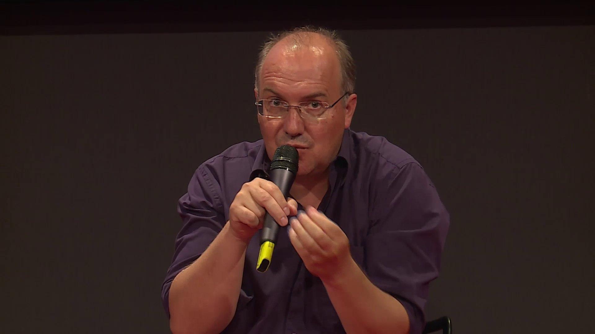 Science fiction and virtual reality - Alain Damasio