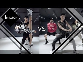 (ENG) [1MTV] Ep1-2 댄스배틀! 리아팀 vs 미나팀 dance battle! Lia Team VS Mina Team