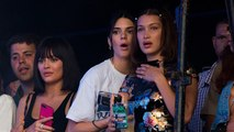 Kylie Jenner Attends Travis Scott's Concert With Bella Hadid & Kendall Jenner