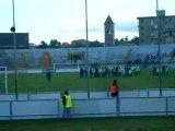Pisa-Piacenza...Squadra sotto la curva...