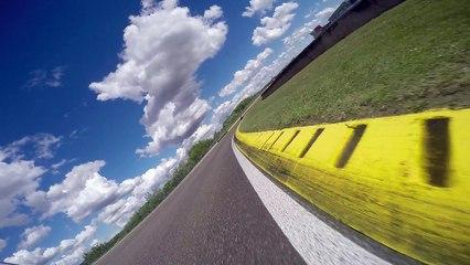 Tour de piste de Louis Bulle - Circuit de Nogaro