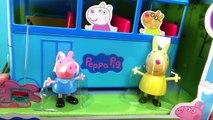 Autobus Bonbons chat manquer entaille porc lapin école chanson son jouet Jr peppa surprend playset
