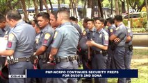 PNP-NCRPO continues security preps for President Duterte's 2nd SONA