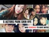 5 Korean Actors Park Shin Hye Was RUMORED To Have Dated | HOT TOPIC!