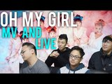 """A """"Perfect Day"""" with OH MY GIRL and their """"Coloring Book"""" (MV and live reactions)"""