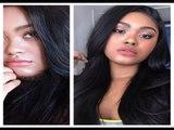 Sugar Virgin Hair 2 Month Update  Peruvian Straight Aliexpress Hair Review  KennieJD
