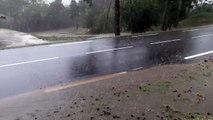 Urgent à Gap : fortes pluies et orage de grêle