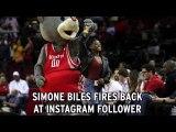 Simone Biles Responds To Criticism On Instagram