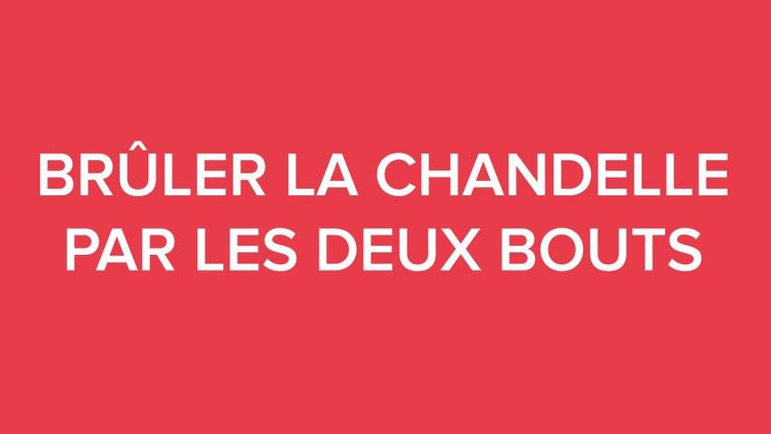 #DOUCSAVIEN / BRÛLER LA CHANDELLE PAR LES DEUX BOUTS