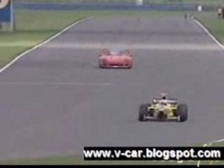Ferrari F40 vs Formula One