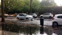 Un déluge rue Baraban à Lyon 3e