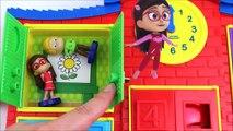 Bebé colores Niños la Aprender máscaras patrulla pata cerdo preescolar arco iris cohete juguetes Peppa pj