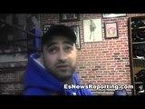 trainer Billy Hussein talks billy dib vs mexican russian - EsNews Boxing