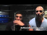 Billy Dib On Fighting Mexican Russian and Mikey Garcia - EsNews Boxing