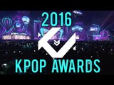 KMoments KPOP Awards (Best Moments of 2016)