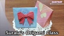 SAC coeur coeurs origami origami emballage sac cadeau
