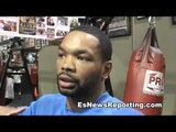 KENDALL HOLT DOWN TO FIGHT KHAN REMATCH DANNY GARCIA EsNews Boxing