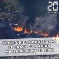 Etats-Unis: 16 morts dans le crash d'un avion militaire au Mississippi