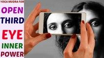 Yoga Mudra Video for Opening Third Eye Sixth Sense Inner Power Problems in Hindi by Life Coach Ratan K. Gupta