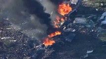 Etats-Unis : 16 personnes tuées dans le crash d'un avion militaire