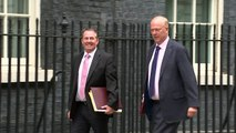 Ministers arrive for Cabinet meeting in Downing Street