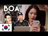 Korean Reaction - BoA 보아 Who Are You (Feat. GaeKo) M/V [Korean Bros]