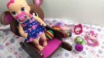 Vivant bébé rêves lis minuit casse-croûte Super snackin dolls
