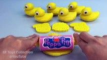 Jaune Caraïbes poisson jouer pâte jaune Canards avec moules amusement et Créatif pour enfants
