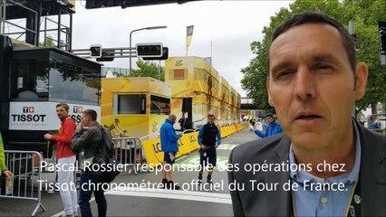 Pascal Rossier, directeur des opérations chez Tissot, partenaire du Tour de France